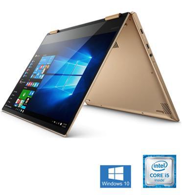 """מחשב נייד """"14 8GB מעבד Intel Core I5 8250U מבית Lenovo דגם Yoga 520-14IKBR-2J"""