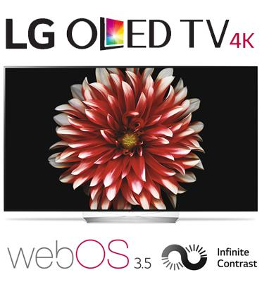 """טלויזיה """"55 בטכנולוגיית OLED ברזולוציית 4K Ultra HD מבית LG דגם OLED55B7Y"""