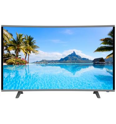 """טלויזיה """"55 מסך קעור 4K מבית AKAI דגם Ak5055"""