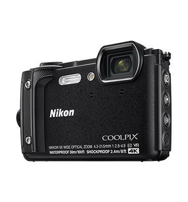 מצלמה קשיחה קומפקטית  16MP זום X5 מבית NIKON דגם COOLPIX W300