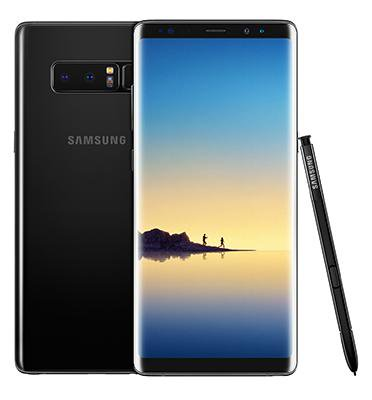 סמארטפון 64GB12MP תוצרת Samsung דגם Galaxy note 8 SM-N950F/DS