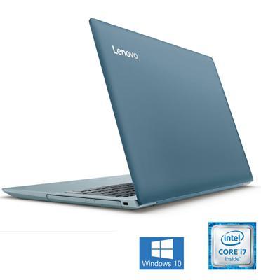 """מחשב נייד 15.6"""" זיכרון 8GB DDR4 מעבד Intel Core i7 8550U תוצרת Lenovo דגם 320-15ISK-6X"""