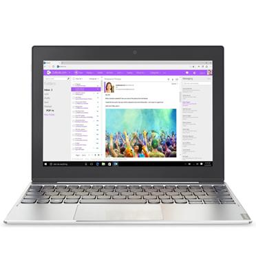 """טאבלט מסך מגע """"10.1 זיכרון 2GB מערכת הפעלה Win 10 מבית Lenovo דגם Ideapad MIIX 320 - 80XF009KIV"""