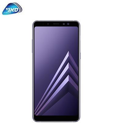 """סמארטפון 64GB מסך 6.0"""" מצלמה כפולה 16MP+8MP תוצרת SAMSUNG דגם A8 plus כולל מגן מסך מתנה"""