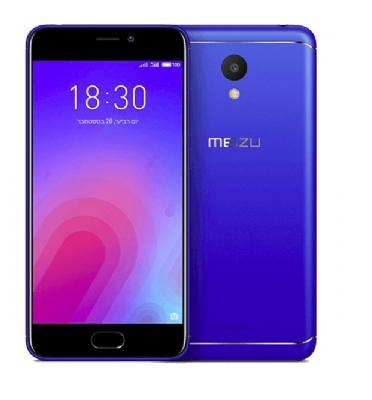 """סמארטפון 16GB מסך 5.2"""" מצלמה 13MP מבית Meizu דגם M6"""