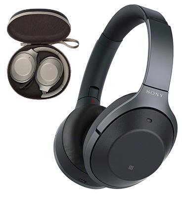 אוזניות דינמיות מרופדות מבטלות רעש BT,NFC  מבית sony דגם WH-1000XM2