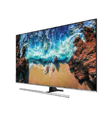 """טלויזיה """"65 4K FLAT Premium Slim SMART TV תוצרת SAMSUNG. דגם 65NU8000"""