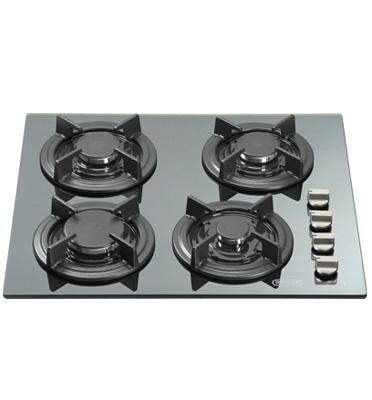 כיריים גז משטח זכוכית נירוסטה תוצרת DELONGHI דגם NDG9