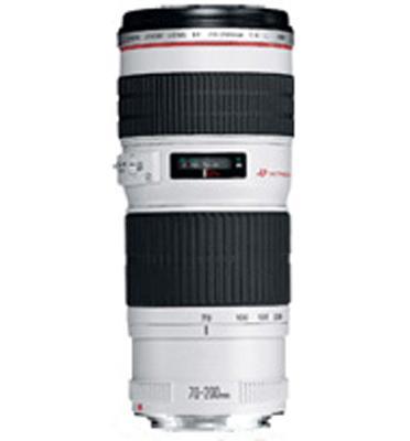 עדשה מקצועית למצלמות SLR קנון EF70-200mm f/2.8L USM