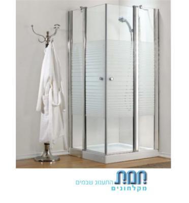 מקלחון פינתי תוצרת חמת מקלחונים דגם אורן 4