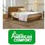 מערכת שינה זוגית מתכווננת מבית אמריקאן קומפורט דגם סן ריידר + מתנה!