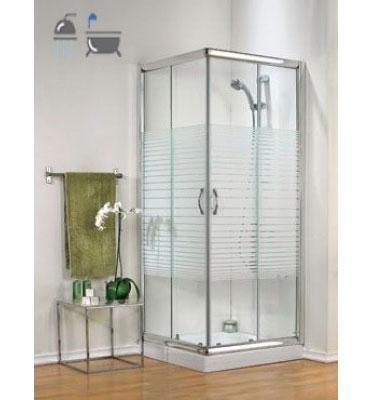 מקלחון פינתי תוצרת חמת מקלחונים דגם צאלון