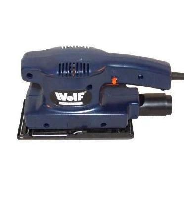מלטשת רוטטת 140W מלבנית WOLF