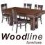 שולחן לפינת אוכל+6 כיסאות עץ מייפל מלא מבית WOODLINE דגם H