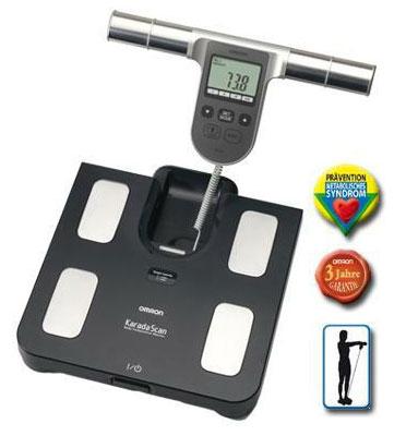 מכשיר לבדיקת משקל, ואחוז שומן ויסרלי מבית OMRON דגם BF508