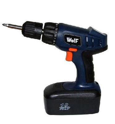 מברגה נטענת 18V עוצמתית תוצרת WOLF דגם 1003237