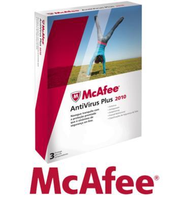 אנטי וירוס כולל רשיון ל-3 משתמשים מבית MCAFEE דגם ANTIVIRUS PLUS 2010