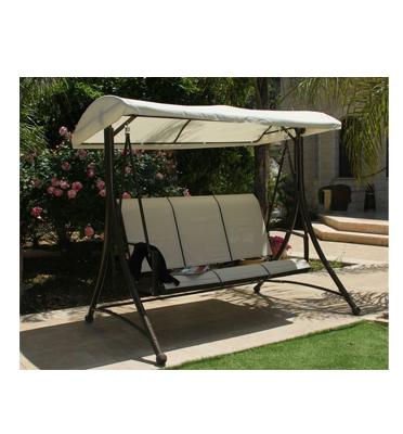 נדנדת גן יוקרתית ומעוצבת 3 מושבים תוצרת SCAB דגם VENICE