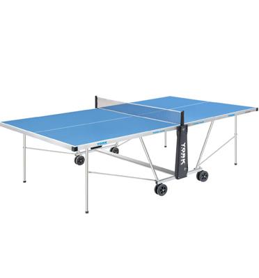 שולחן טניס אלומיניום מלא עם בסיס ומסגרת מאלומיניום ייחודי לשימוש חוץ YORK דגם 900