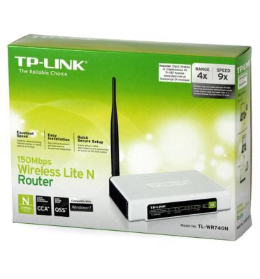 נתב אלחוטי במהירות 150MBPS תוצרת TP-LINK דגם TL-WR740N