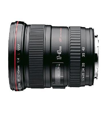 עדשה קנון זום למצלמת רפלקס SLR מקצועית EF17-40mm f/4L USM