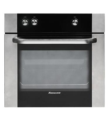 תנור אפיה בנוי בגימור נירוסטה Normande דגם ND655