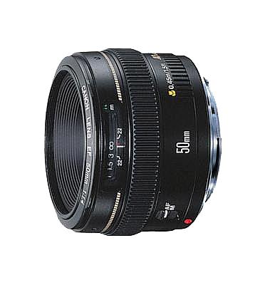 עדשה תוצרת CANON דגם  EF50mm f/1.4 USM