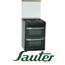 תנור משולב הלכתי דו תאי תוצרת SAUTER. בצבע שחור דגם TSD680B