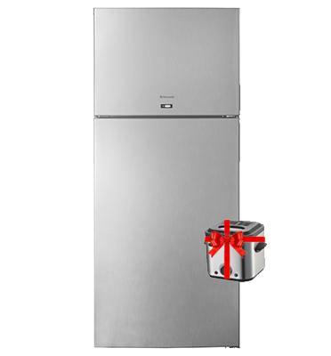 מקרר עם מקפיא עליון בנפח 522 ליטר No-Frost תוצרת .Normande דגם KL640- מוצר מתנה לבחירה!