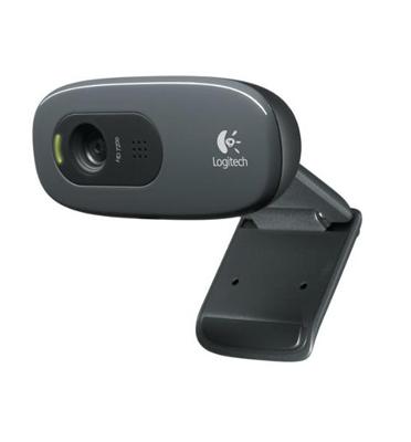 מצלמת אינטרנט עם מיקרופון מובנה, לשיחות וידאו וקול באיכות מעולה. מבית LOGITECH מדגם C270