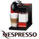 מכונת אספרסו להכנת אספרסו בלחיצת כפתור Nespresso דגם Latisima+ בגימור אדום