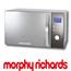 תנור מיקרוגל 30 ליטר משולב גריל בגימור נירוסטה עם דלת מראה תוצרת Morphy Richards דגם 44558
