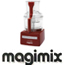 מעבד מזון מקצועי בנפח 2.6 ליטר גימור אדום תוצרת MAGIMIX דגם CS-3200XLD