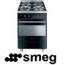 תנור אפיה משולב בנפח ענק של 79 ליטר בגימור שחור פחם תוצרת SMEG דגם SIL68MA8