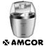 מכשיר להכנת גלידה ביתית 1.5 ליטר תוצרת Amcor דגם ICE1513