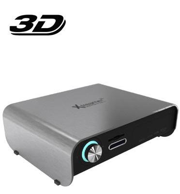 מזרים מדיה סטרימר תומך תלת מימד (3D) הראשון בעולם! מבית Xtreamer דגם Prodigy