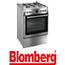 תנור אפיה משולב כיריים תא אפייה ענק 65 ליטר תוצרת Blomberg גימור נירוסטה דגם HGN9325E