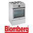 תנור אפיה משולב כיריים תא אפייה ענק 65 ליטר תוצרת Blomberg צבע לבן דגם HGN9325A