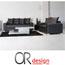 מערכת ישיבה 2+3 מדמוי עור איכותי Top Leather עם נצנצים או חלק מבית Or Design דגם מרסיי