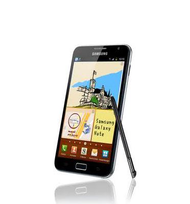 """סמארטפון מתקדם ואיכותי עם מסך 5.3"""" תוצרת SAMSUNG דגם Galaxy Note N7000"""