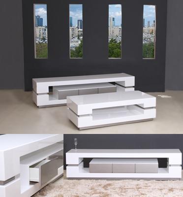 מערכת מזנון ושולחן מבית Vitorio Divani דגם ספרינג