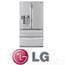 מקרר 4 דלתות בנפח 784 ליטר EMPIRE תוצרת LG עם קיוסק בצבע טיטניום דגם GRL28-EMP