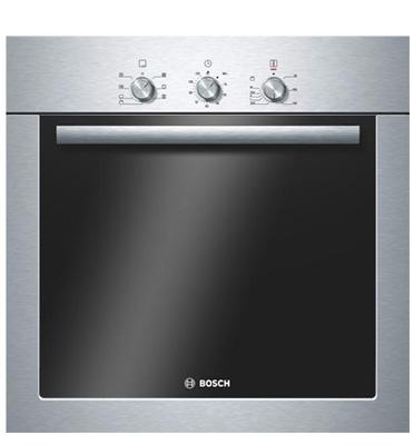 תנור אפיה בנוי תא אפייה ענק 67 ליטר תוצרת בוש בגימור נירוסטה דגם HBA21B351Y