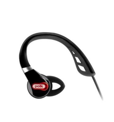 אוזניות IN-EAR ספורטיביות מקצועיות מבית POLKAUDIO דגם ULTRAFIT-500