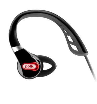 אוזניות IN-EAR ספורטיביות עם מיקרופון מובנה - מבית POLKAUDIO  דגם ULTRAFIT-1000