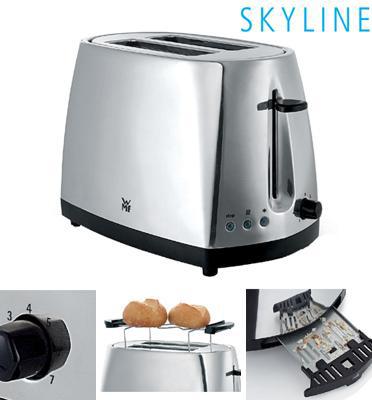 מצנם מעצבים נירוסטה מסדרת SKYLINE של WMF גרמניה דגם 414040021