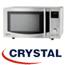 מיקרוגל דיגיטאלי +גריל 25 ליטר נירוסטה תוצרת קריסטל דגם MW660