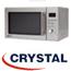 מיקרוגל דיגיטאלי +גריל 25 ליטר נירוסטה תוצרת קריסטל דגם MW-680