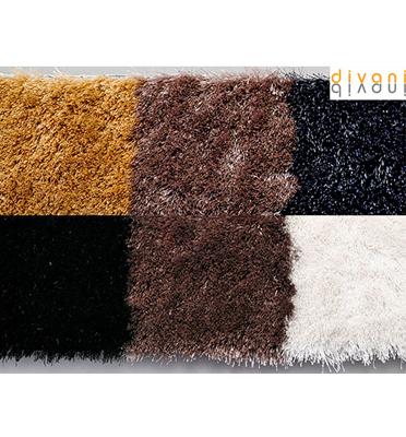 שטיח עבודת יד מפנק ורך עשיר במגע מבית Vitorio Divani דגם שאגי מילאנו