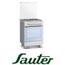 תנור משולב כיריים תא אפיה 50 ליטר גימור נירוסטה תוצרת SAUTER. דגם TSF6608IX